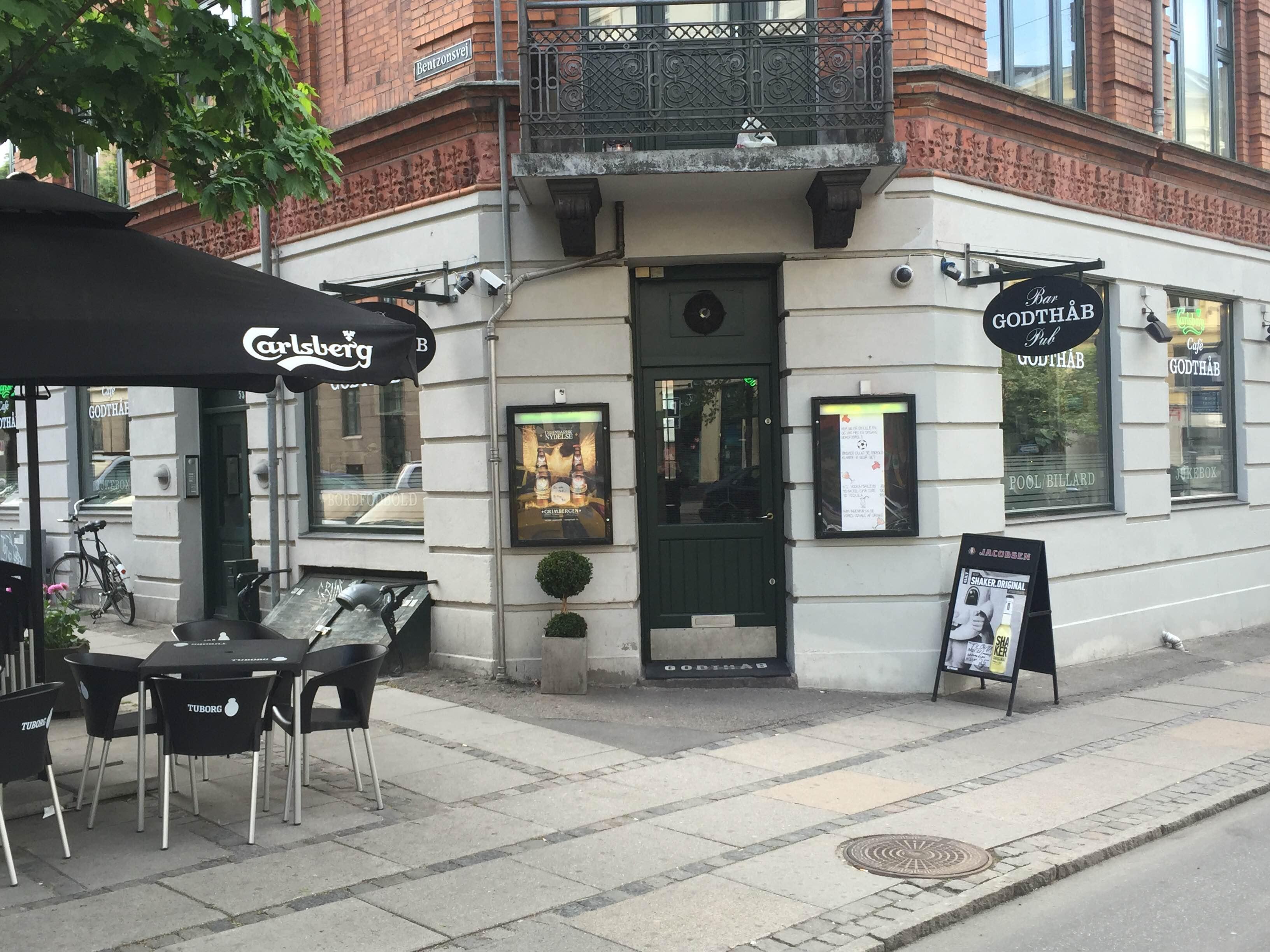 Cafe Godthåb - Godthåbsvej frederiksberg