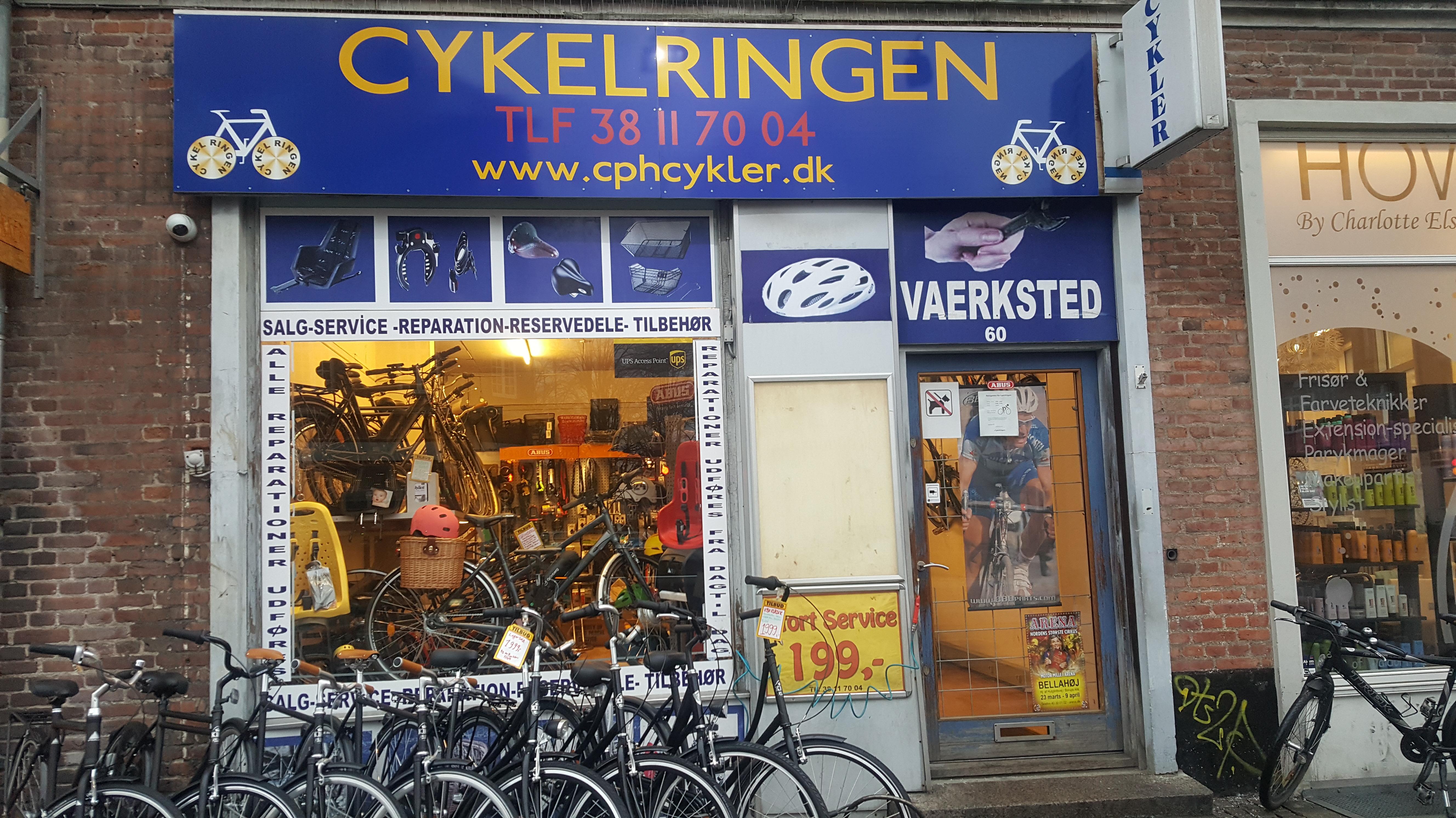 Cykelringen - Værksted - Peter bangs vej - København