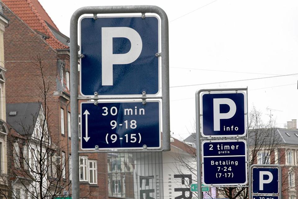 parkering helligdage københavn