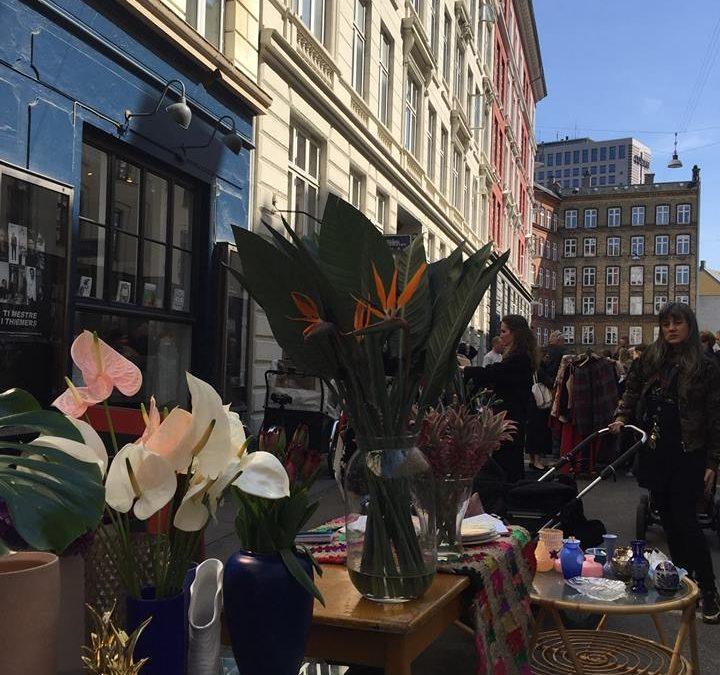 Forårsmarked på Værnedamsvej og Tullinsgade