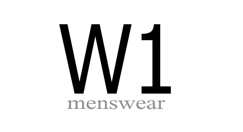 W1 menswear logo
