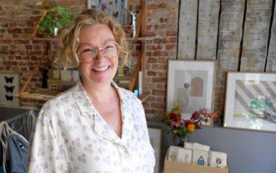 Niedziella & Friends sælger gaver, interiør … og fisketasker