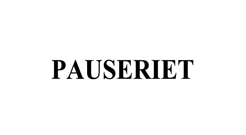 PAUSERIET KAFFEBAR