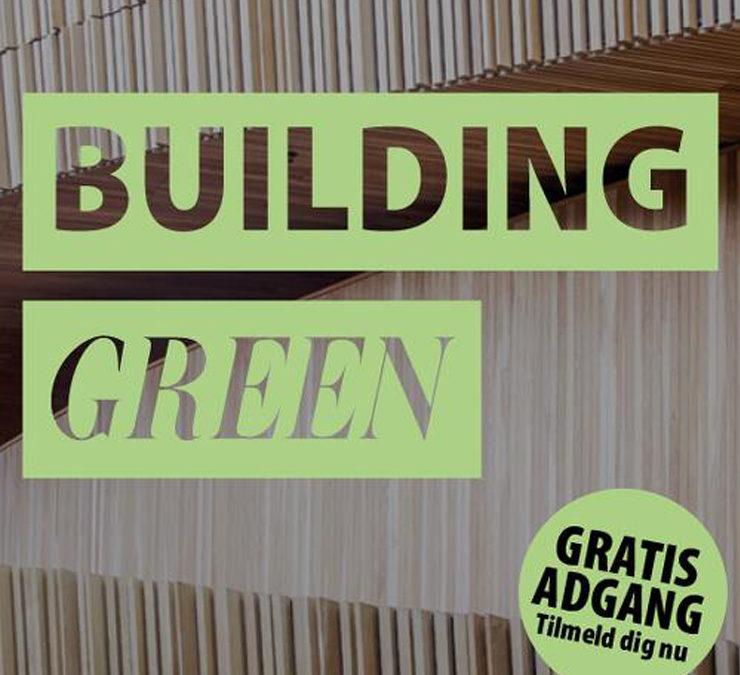 Danmarks vigtigste event for bæredygtige og energieffektive bygninger…