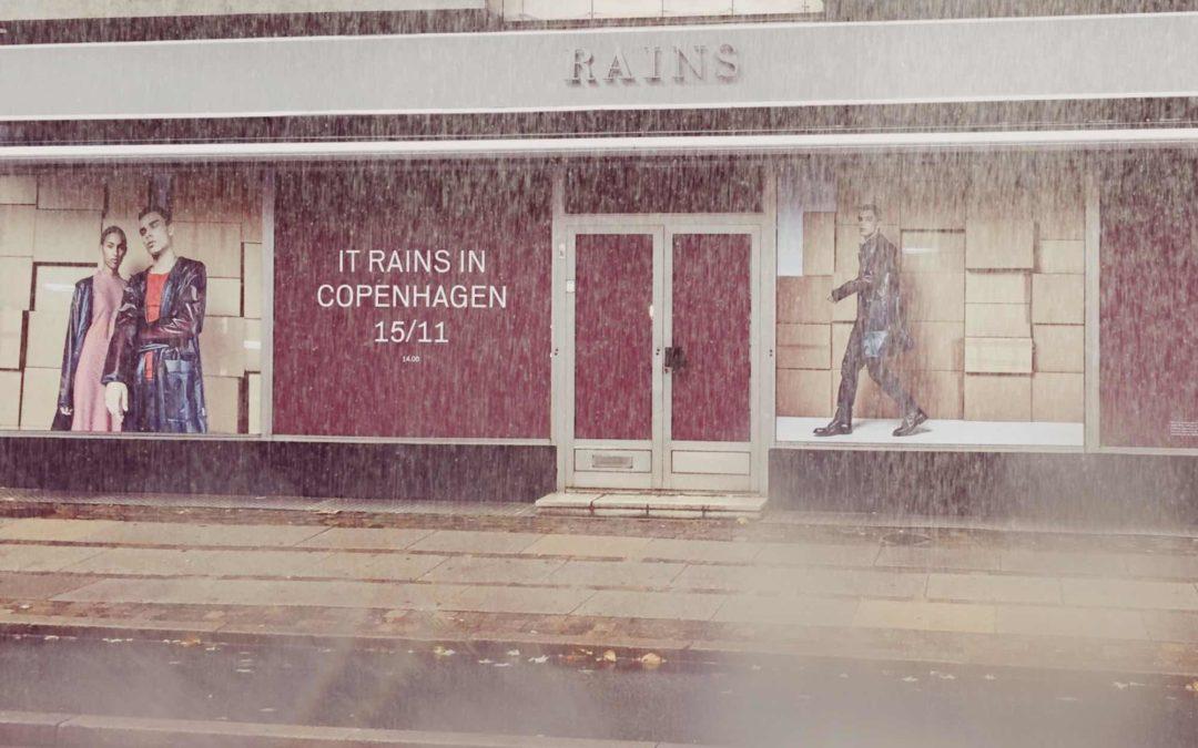 Verdenskendt regntøjsbrand åbner butik på Gammel Kongevej
