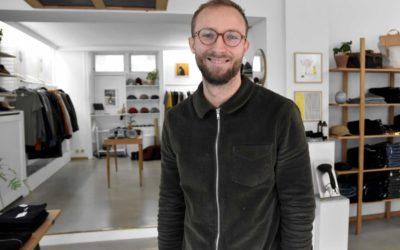 Stil med kant: Jonas fra Townsfolk har eget tøjmærke