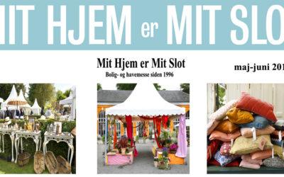 Mit Hjem er Mit Slot – maj-juni 2019