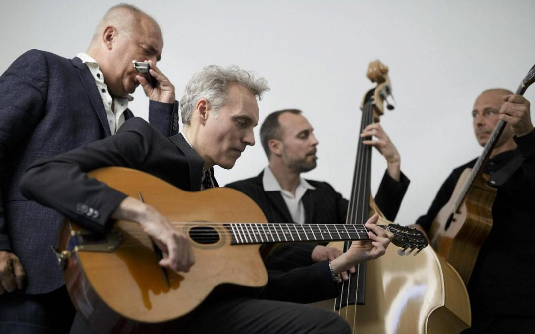 Révé Bohéme – Gypsy Jazz – Friday 5/7 2019, kl. 14:00