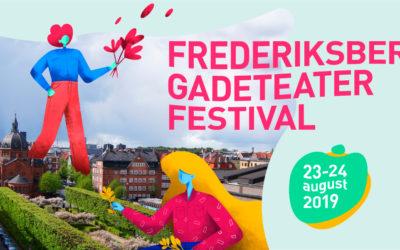 Gadeteater på Frederiksberg i København den.23 – 24.august 2019