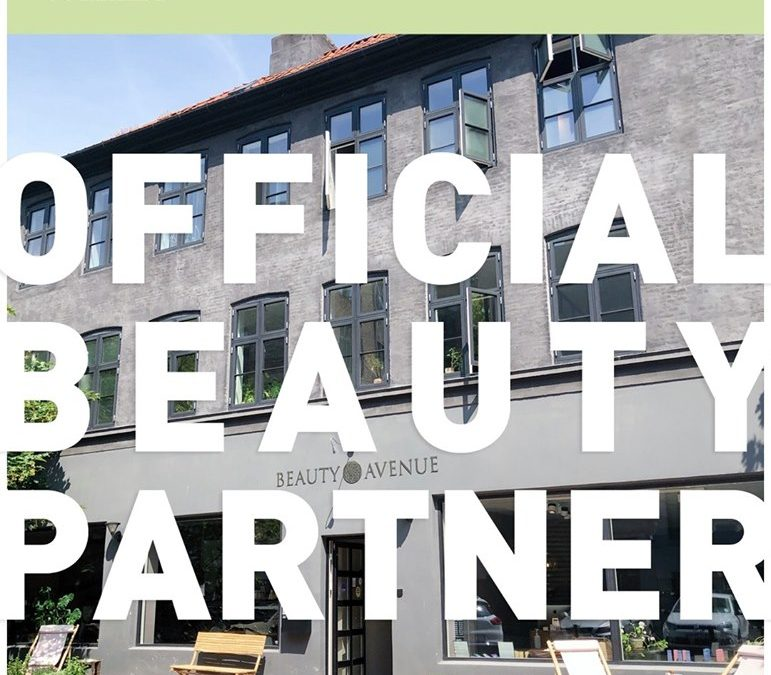 OFFICIAL BEAUTY PARTNER OF COPENHAGEN FASHION WEEK
