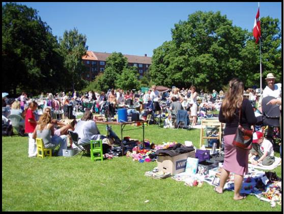Markedsdag i Lindevangsparken – 25/ Aug/2019