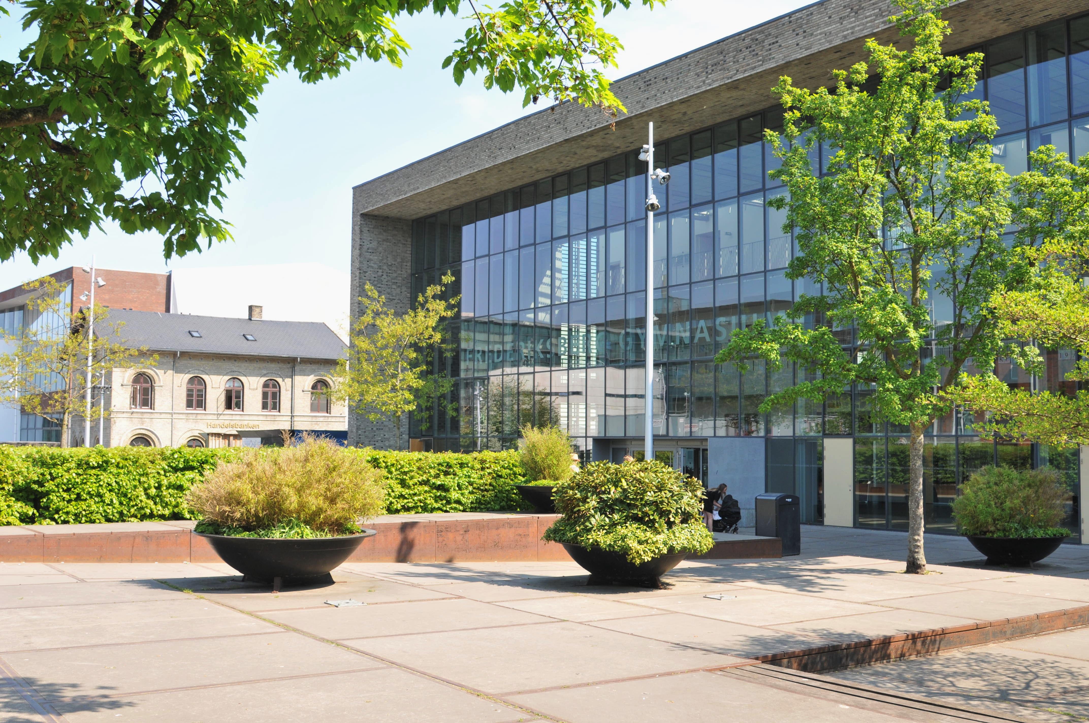 Moderne bygninger på Frederiksberg - Frederiksberg Gymnasium