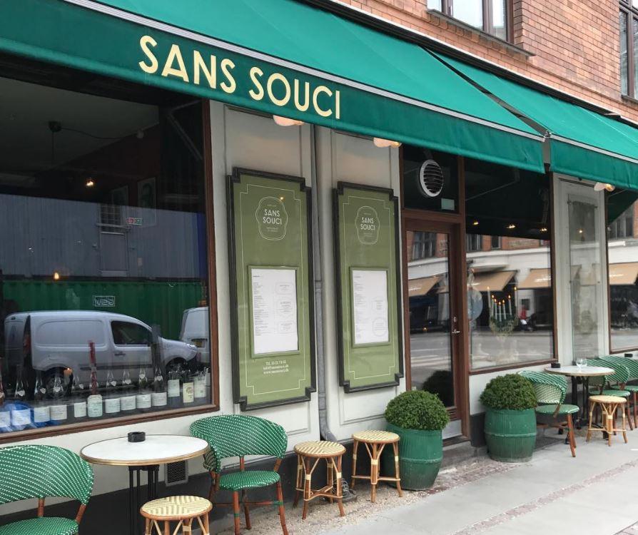 Sans Souci Restaurant restaurant frederiksberg københavn