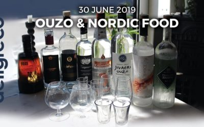 Tasting event   Ouzo & Nordic Food – den 30.juli .2019