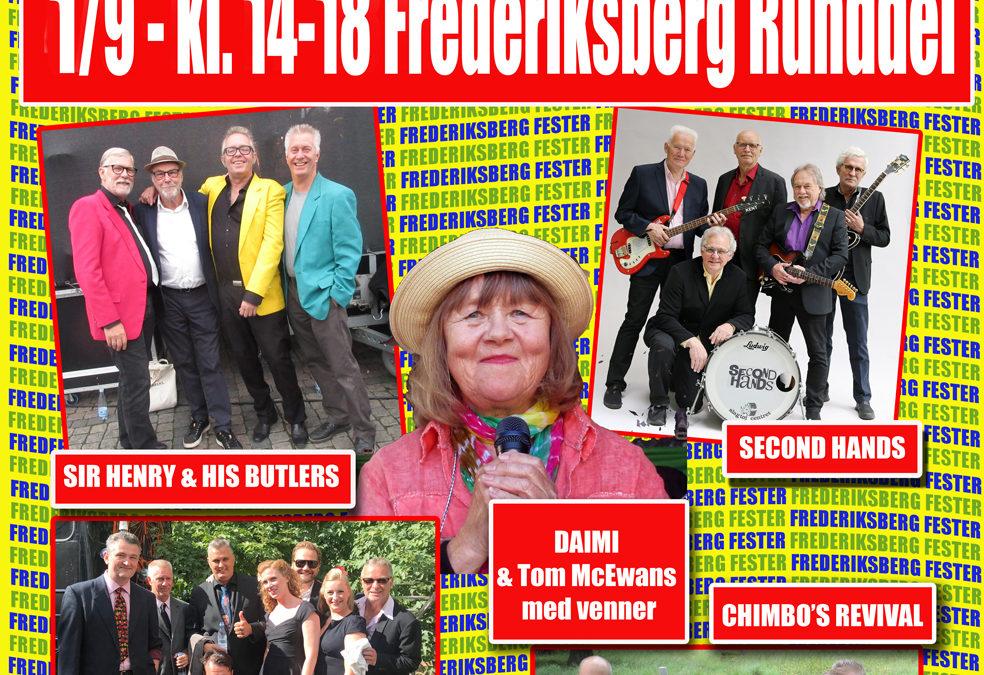 Hit House på Frederiksberg Runddel kl. 14.00 -18.00 – Søndag den 1. september